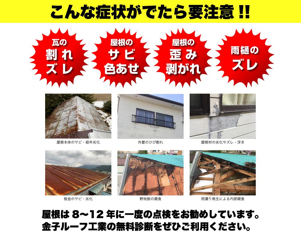 こんな屋根は危険!【北上市】【花巻市】【奥州市】