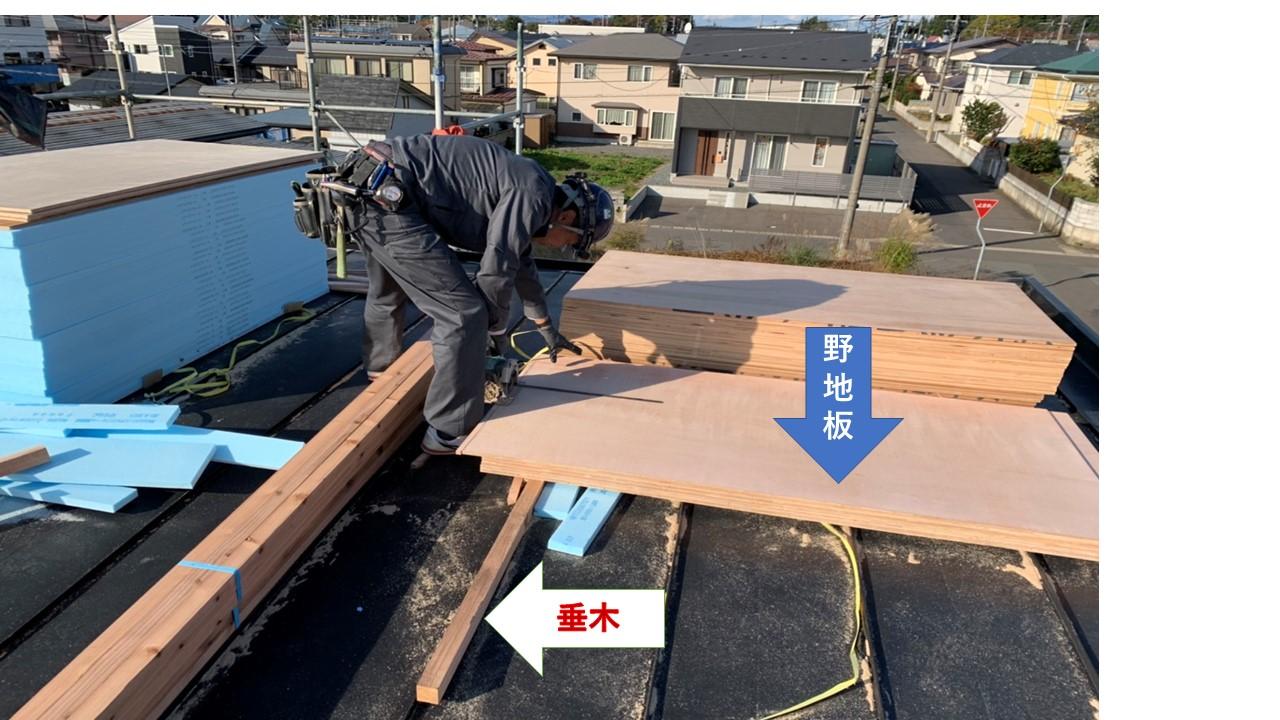 屋根のお勉強part②