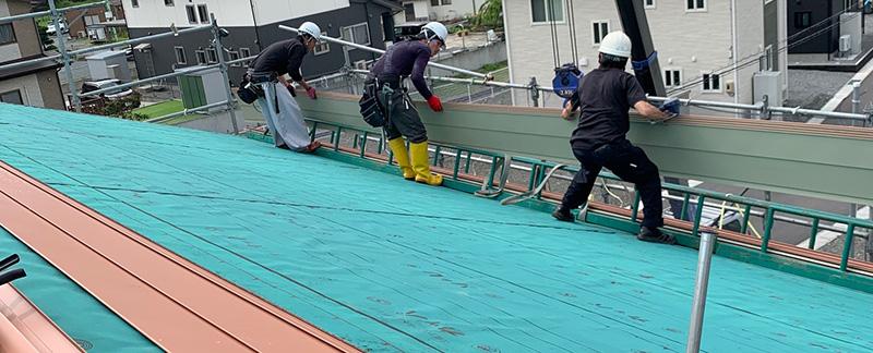 岩手県 北上市 M様邸 屋根カバー工法